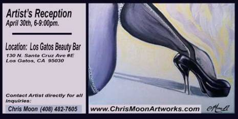 Art Show - Los Gatos Beauty Bar 04/30/2015