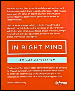 In Right Mind Show - June 28th, 2014, fundraiser for FAMA.
